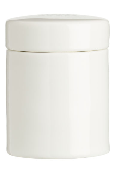 Small porcelain pot - White - Home All | H&M IE