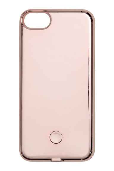iPhone 6s/7-case - Roze/metallic -  | H&M BE