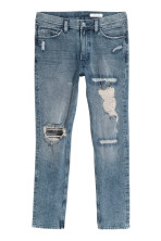 Azul denim claro/Trashed