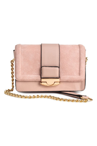Bag with suede details - Old rose -  | H&M