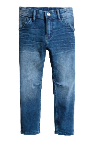 Relaxed Tapered fit Jeans - Blu denim -  | H&M CH