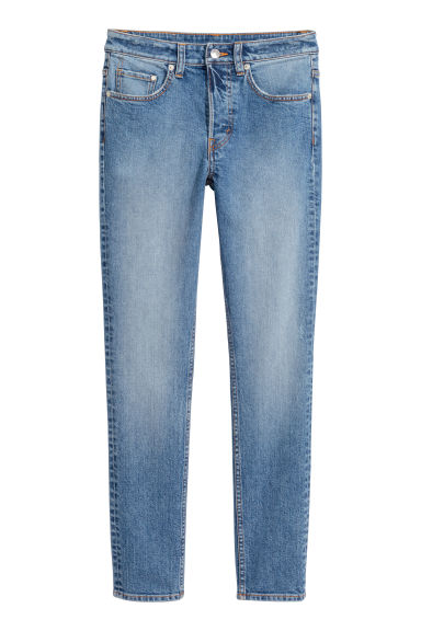 Skinny High Waist Jeans - Denim blue - Ladies | H&M IE