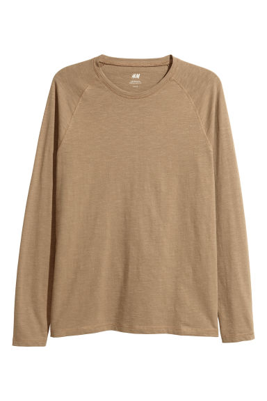 Baseball top - Camel - Men | H&M GB