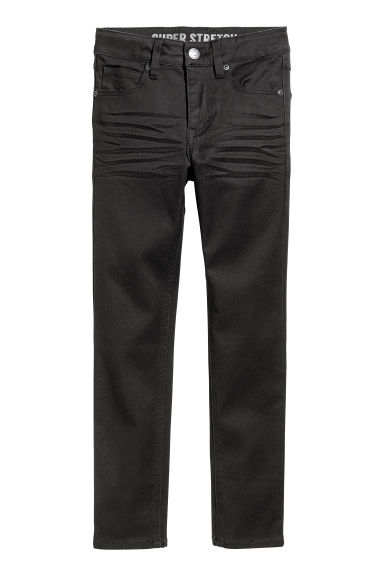 Superstretch trousers - Black - Kids | H&M CN
