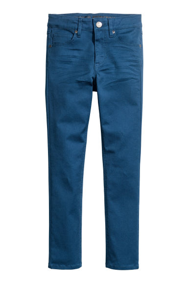 Pantalon super extensible - Bleu - ENFANT | H&M BE