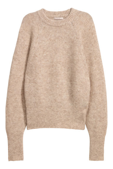 Pullover in misto mohair - Beige -  | H&M IT