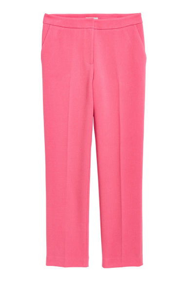 Suit trousers - Pink - Ladies | H&M CN