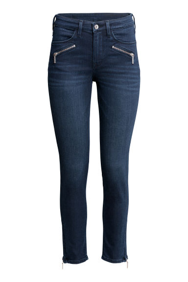 Skinny Regular Ankle Jeans - Blu scuro -  | H&M IT