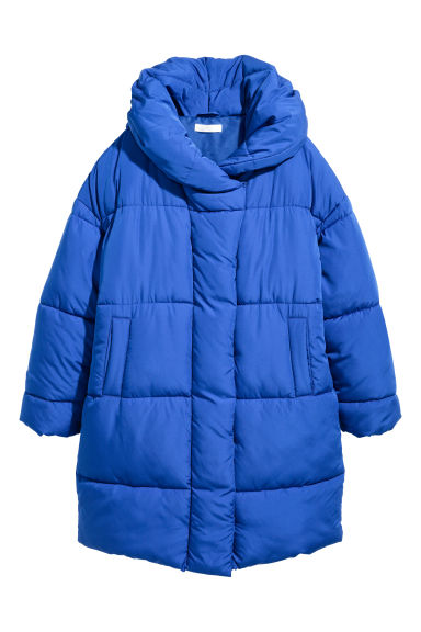 Padded jacket - Cornflower blue -  | H&M CN