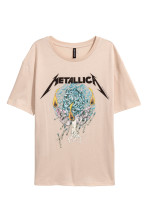 Light beige/Metallica