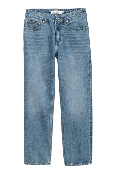 Straight Regular Jeans - Bleu denim - FEMME | H&M BE
