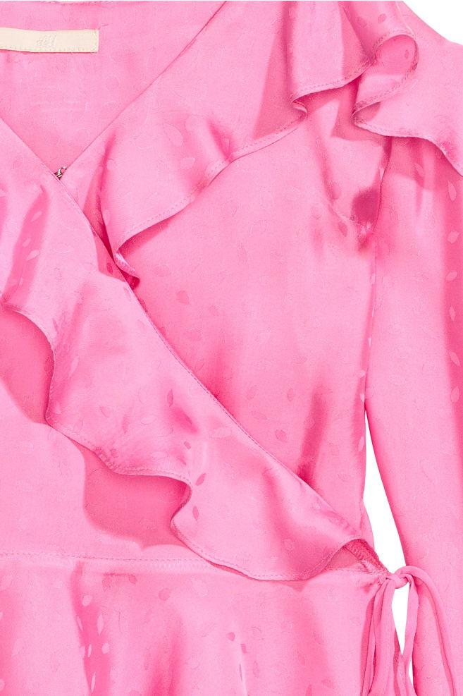 221a5f04408 ... Cold shoulder blouse - Pink - Ladies | H&M ...