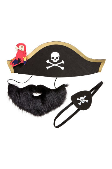 Costume de pirate - Noir/pirate - ENFANT | H&M FR