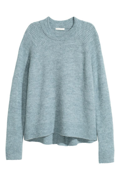 Knitted jumper - Turquoise -  | H&M