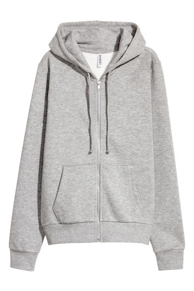 連衣帽外套 - Grey marl - Ladies | H&M