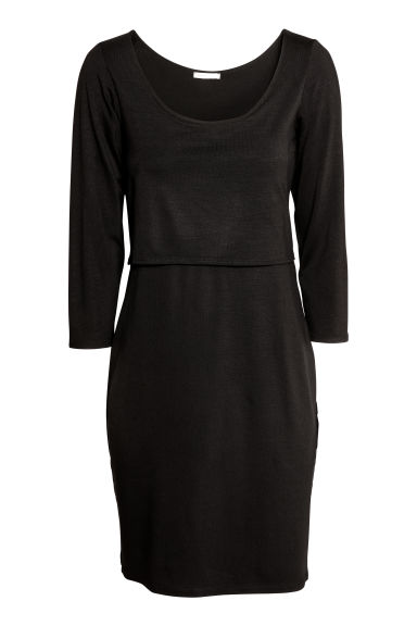 MAMA Nursing dress - Black -  | H&M GB