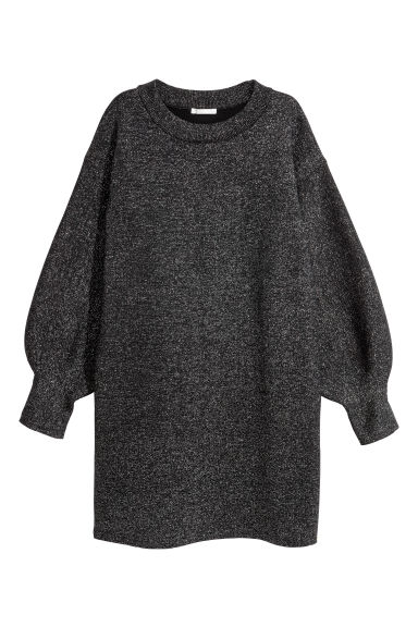 Glittery dress - Black/Glittery - Ladies | H&M IE
