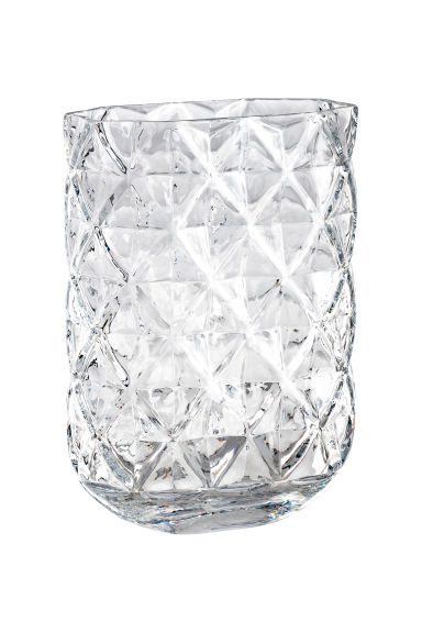Vase en verre - Verre transparent -  | H&M BE
