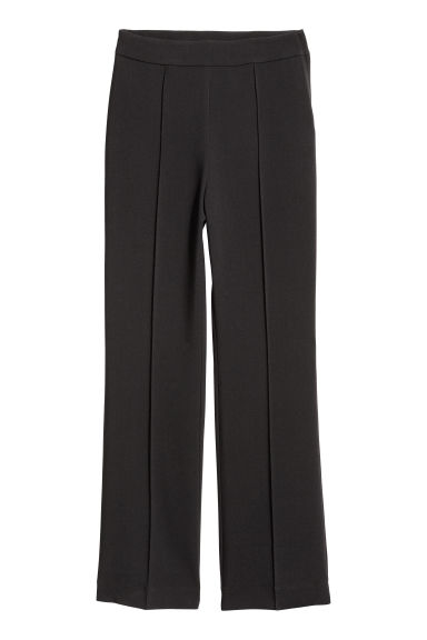 Flared trousers - Black - Ladies | H&M GB