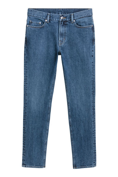Skinny jeans - Dark blue denim - Men | H&M GB