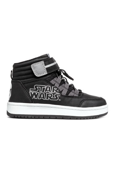 Trainers with a motif - Black/Star Wars - Kids | H&M CN