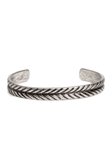 Metalen bangle - Zilverkleurig -  | H&M NL