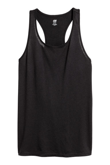 Sports top - Black -  | H&M