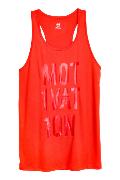 Top training - Rouge vif -  | H&M FR