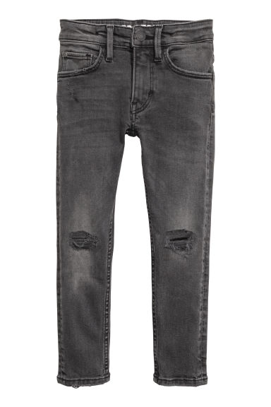 Superstretch Skinny fit Jeans - Noir washed out -  | H&M CH
