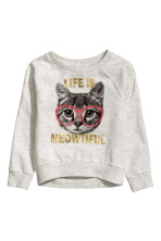 Light grey marl/Cat