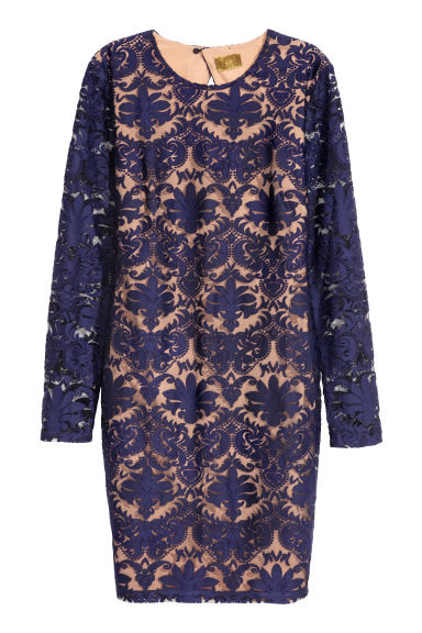 Lace dress - Blue - Ladies | H&M IE