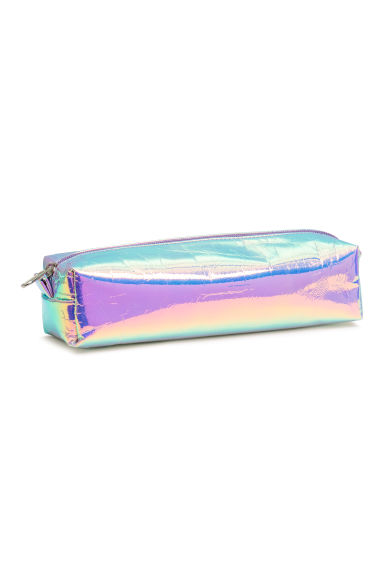 Pencil case - Purple/Metallic - Ladies | H&M CN