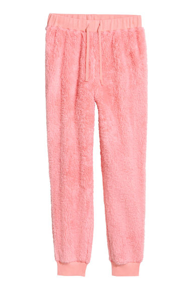 Fleece joggers - Pink -  | H&M