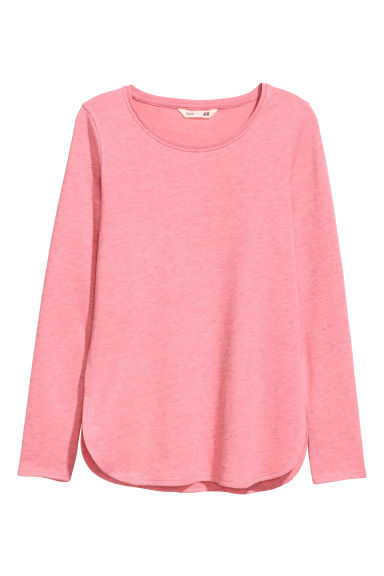 Sweat - Rose chiné -  | H&M FR