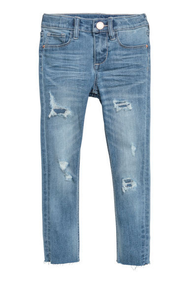 Superstretch Skinny fit Jeans - Licht denimblauw -  | H&M NL