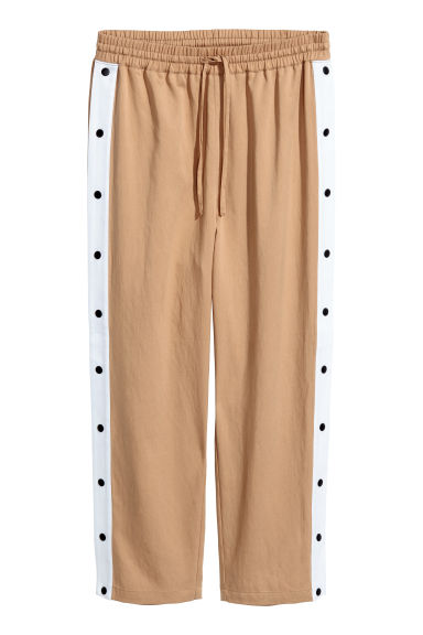 Sweatpants in a lyocell blend - Beige - Ladies | H&M IE