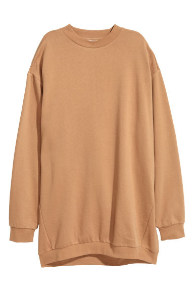 Oversized sweatshirt - Beige - Ladies | H&M