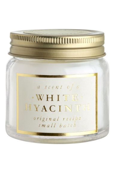 Bougie parfumée - Blanc/White Hyacinth -  | H&M BE