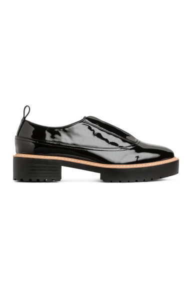 Patent shoes - Black/Patent - Ladies | H&M GB