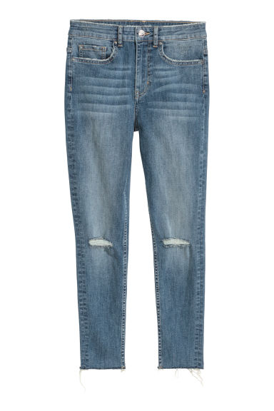 Slim Ankle Jeans - Light denim blue -  | H&M