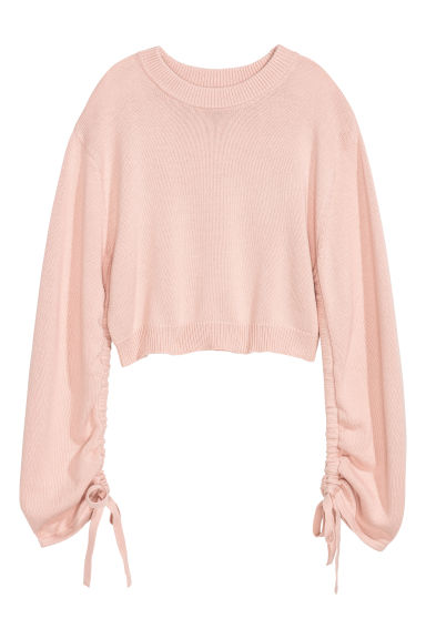 Pullover con coulisse - Rosa cipria - DONNA | H&M IT