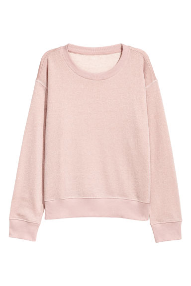 Chandail aspect scintillant - Rose/scintillant -  | H&M CA