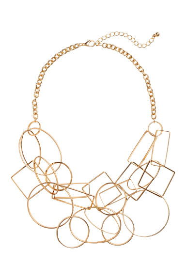 Necklace with pendants - Gold-coloured -  | H&M