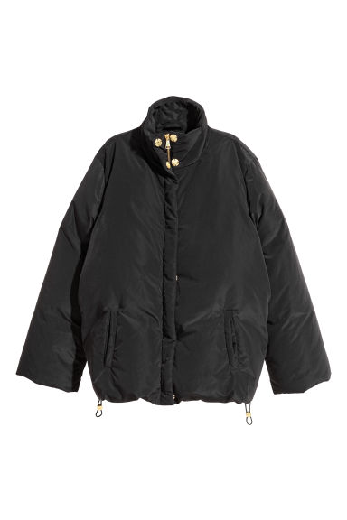 Down jacket - Black -  | H&M