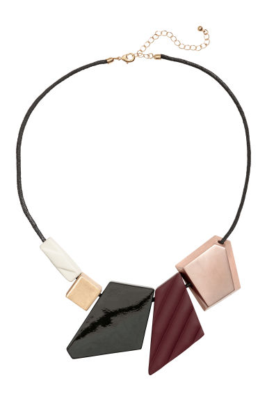 Necklace with pendants - Black -  | H&M CN