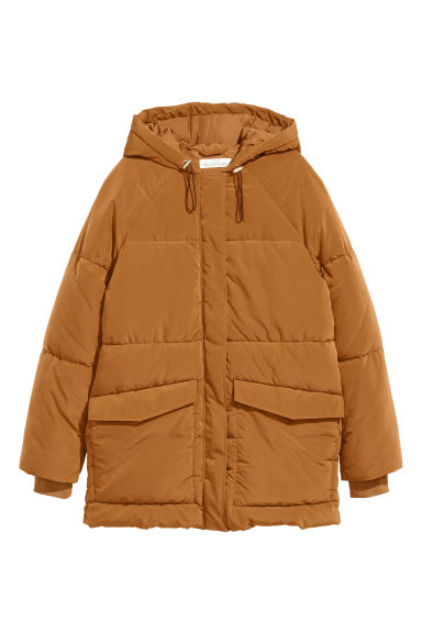 Padded jacket - Light ochre - Ladies | H&M GB