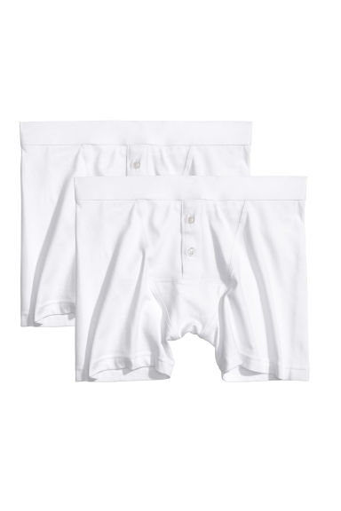 2-pack boxer shorts - White -  | H&M GB