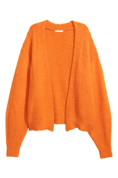 Kofta i ullmix - Orange -  | H&M FI