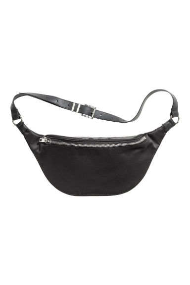 Waist bag with a metal chain - Black - Ladies | H&M IE